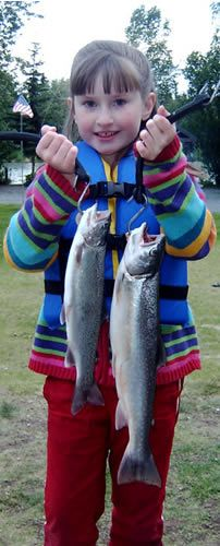 Alli & Father's Day Rainbow Trout