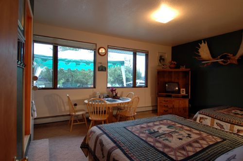 kenai river bed and breakfast suite