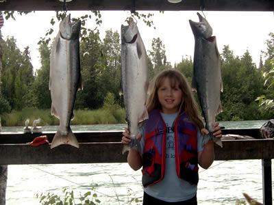 Jillian's Nice Limit of Red Salmon